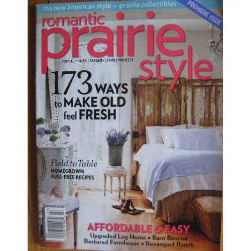 style magazine summer 2012 premiere issue country decorating ideas