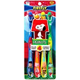 Dr. Fresh peanuts snoopy toothbrush for kids, 4 per pack (Pack of 2)