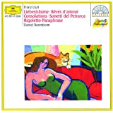 Liszt: Dreams of Love; Consolations; Sonnets of Petrarca; Rigoletto Paraphrase