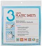 "Quilters Plastic Template 12x12"" 3/Pkg"
