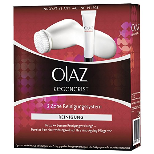 Olaz Regenerist 3 Zone Facial Cleansing Brush with 2 Rotation Speeds