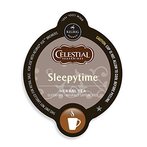 Celestial Seasonings Sleepy Time Tea, Vue Cup Portion Pack For Keurig Vue Brewing Systems (16 Cups, 0.09Oz Each)