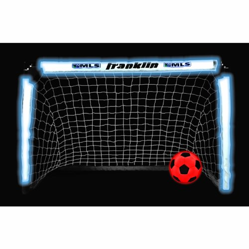Franklin Sports MLS Light Up Soccer Goal and