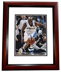 Chauncy Billips Autographed Hand Signed Denver Nuggets 8x10 Photo MAHOGANY CUSTOM... by Real Deal Memorabilia