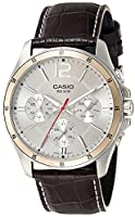 Casio Enticer White Dial Men's Watch - MTP-1374L-7AVDF (A835)