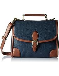 Lino Perros Women's Handbag (Blue) - B01HT49XBG