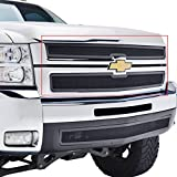 E-Autogrilles 47-0110 07-10 Chevy Silverado 2500/3500 HD Stainless Steel Mesh Billet Grille Insert
