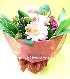 【ギフト・贈り物に】【クリスマス限定】季節のお花のスタンディングブーケクリスマスラッピングFL-CH-635