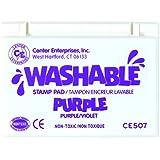 Center Enterprise CE507 Washable Stamp Pad, Purple