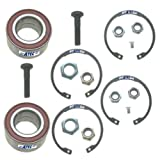 2x Wheel bearing kit front axle left and right SEAT AROSA 6H 1.0 1.4 1.7, VW LUPO 6X 6E 1.0 1.4 1.6 1.7, POLO 6N 6N1 6N2 1.0 1.3 1.4 1.6 1.7 1.9
