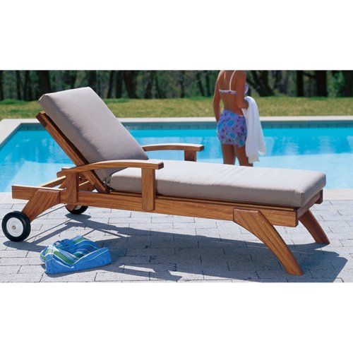Chaise lounge outdoor lazy days chaise chair for Chaise longue plans