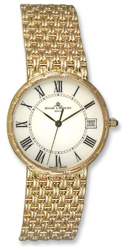 Baume & Mercier Baume Mercier Classima 18k Gold Mens Watch Moa08250