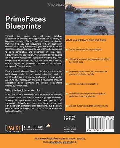 Primefaces Blueprints