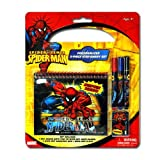 Marvel Spiderman Personalized Statioinery 5pc Set - Spiderman Notebook Set- S...