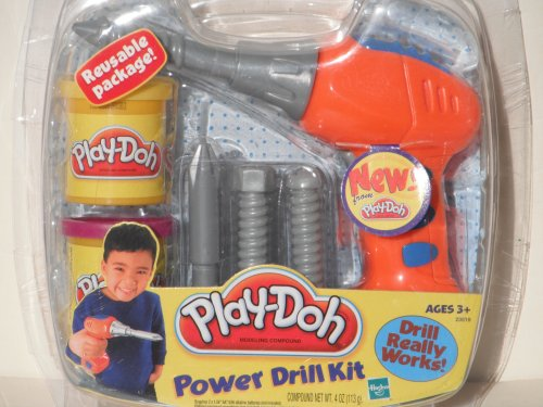 Play-Doh: Power Drill Kit by HASBRO (Play Doh Drill compare prices)