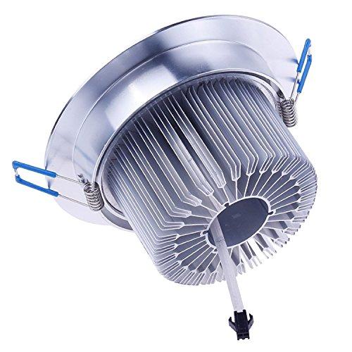 Cozyswan® Cozyswan®New Design Energy Saving Warm White Dimmable 110V240V 12W Led Ceiling Light Downlight Recessed Lighting