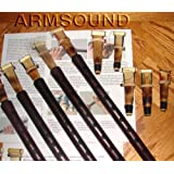DUDUK Three (3) ARMENIAN Professional DUDUKs with 9 Reeds and Playing Instructions made from Apricot Wood --- Flute Oboe Zurna Mey Balaban