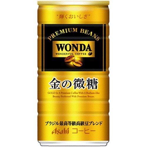 アサヒ飲料 ワンダ金の微糖 185g×30本