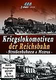 Various-Kriegslokomotiven Der Reichsbahn-StraÃenba (DVD)