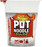 Pot Noodle Sticky Rib Flavour 90 g (Pack of 12)