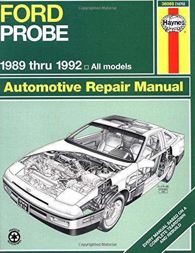 Ford Probe, 1989-1992 (Haynes Manuals) front-448779