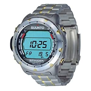 dive watch bands  Suunto Stinger Advanced Dive Wristop Computer Watch 3520cfdc293