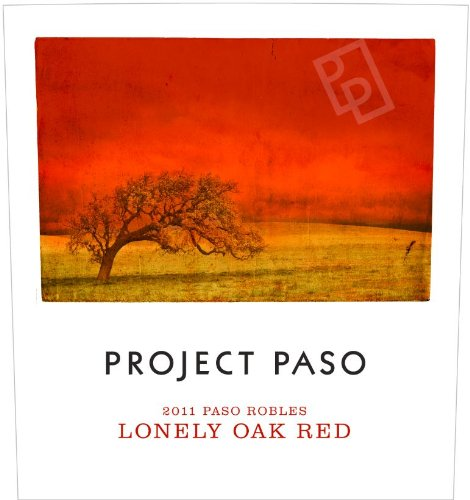 2011 Project Paso Lonely Oak Red Blend, Paso Robles 750 Ml