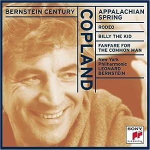 Bernstein Century - Copland: Appalachian Spring, Rodeo, etc / Bernstein, York PO