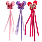 Butterflies™ Butterfly Wands - 3 Pack