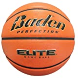 Baden Perfection Elite Official Wide Channel Basketball, 29.5-Inch, NFHS Approved