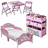 Room-in-a-Box-mit-Modellauswahl-Kindermbel-Mbel-Kinderbett-Bett-Tisch-Sthle-Kindertisch-Kindersthle-Princess