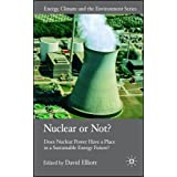 Nuclear or Not?: Does Nuclear Power Have a Place in a Sustainable Energy Future? (Energy, Climate and the Environment)by David Elliott