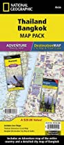 Thailand, Bangkok, Map Pack Bundle (National Geographic Adventure Map)
