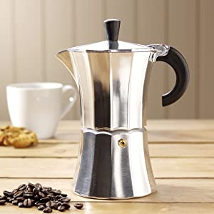 ProCook Stove Top Coffee Maker 6 Cup: Amazon.co.uk: Kitchen & Home