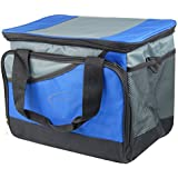 TRIXES Large Collapsible Cool Bag Picnic Camping Hamper Ice Box Can Drink Food Cooler