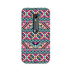 Ebby Tribal Aztec Premium Printed Case For Moto X Force