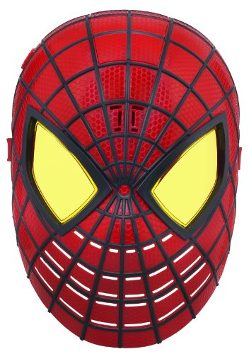 THE AMAZING SPIDER-MAN SPIDEY SENSE HERO FX MASK WITH HERO PHARASES NEW