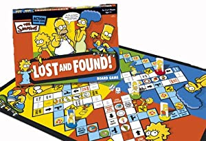 The Simpsons Lost and Found Board Game