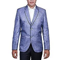 Alark Denim Mens Blue Blazer 42