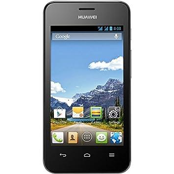 Huawei ASCEND Y320D Smartphone 10,2cm/4,0', 800x480 Touchscreen, 1,3 GHz Dual-Core Prozessor, 2 Megapixel Kamera, Android 4.2, Dual-SIM, Bluetooth 3.0, WLAN, GPS, schwarz
