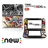 [new 3DS XL] One Piece Limited Edition VINYL SKIN STICKER DECAL COVER for NEW Nintendo 3DS XL / LL Console System