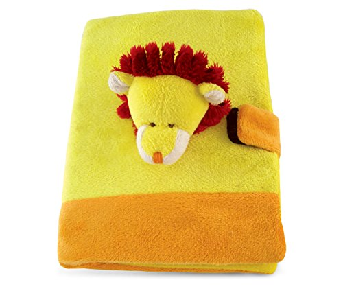 Puzzled Lion Plush Notebook