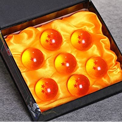 Neu Dragonball Z Crystal Ball R:4cm 7 Stück PVC kaufen