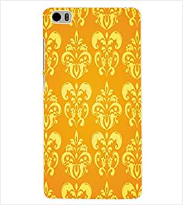 ColourCraft Floral Pattern Back Case Cover for XIAOMI MI 5