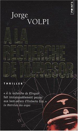 À la recherche de Klingsor