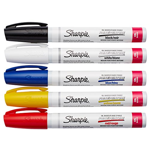 sharpie-medium-point-oil-based-paint-markers-5-pkg-black-blue-yellow-red-and-white