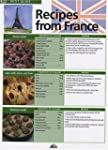 Recipes from France : Edition en lang...