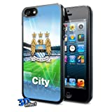 Manchester City FC 3D Football Hard Cover Case for iPhone 5/5S