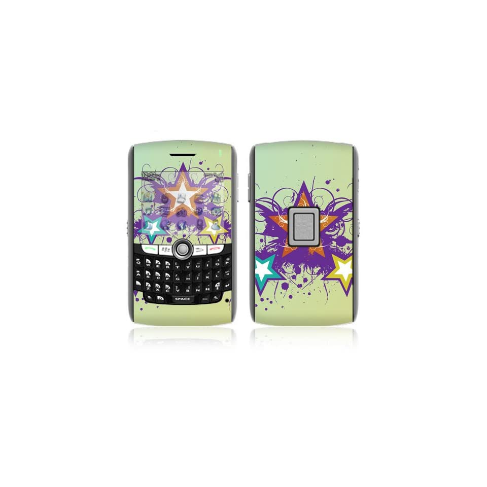 Rock Stars Decorative Skin Cover Decal Sticker for BlackBerry World 8800 8820 8830 Cell Phone