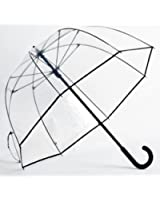 Elite Rain Elite Rain Umbrella Premium Fiberglass Bubble Umbrella - Black